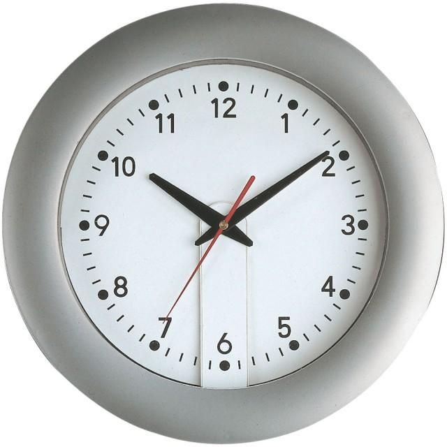 Orologio Jumbo da muro in plastica con originale quadrante amovibile per facile personalizzazione (diam. 35 cm)