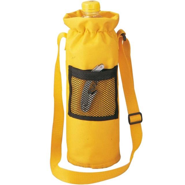 Borsa termica porta-bottiglia, con tasca a rete e tracolla