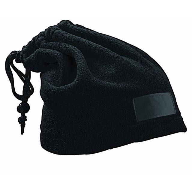 Fascia scalda-collo in pile, trasformabile in cappello