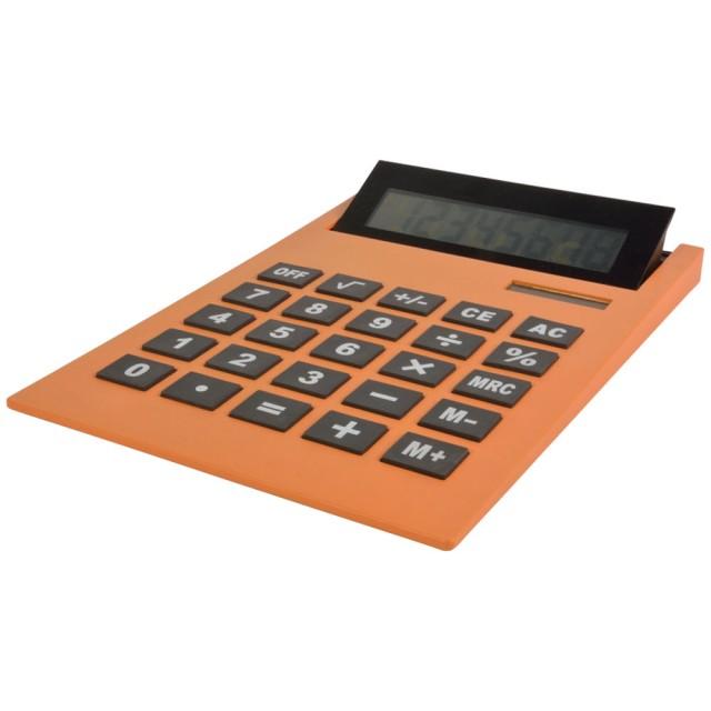 Maxi-calcolatrice da tavolo, display reclinabile, doppia alimentazione (solare/batteria)