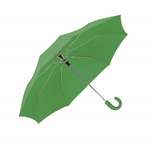 Mini ombrello automatico, manico gommato