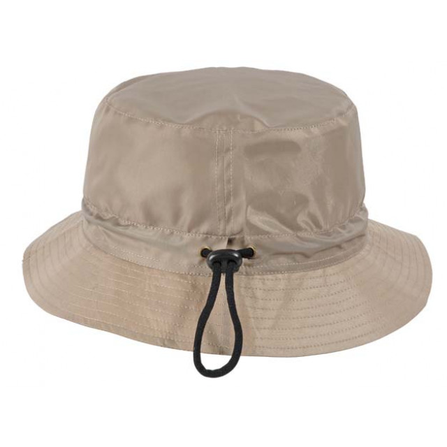Cappello in nylon, regolabile con cordino, interno in cotone