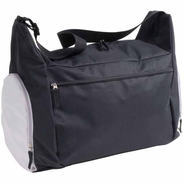 Borsone sport/viaggio in poliestere 600D con tracolla, 2 scomparti e tasca porta scarpe