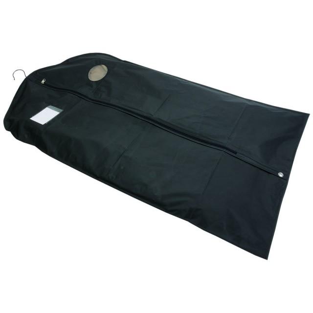 Porta abiti in PEVA con porta card in pvc trasparente