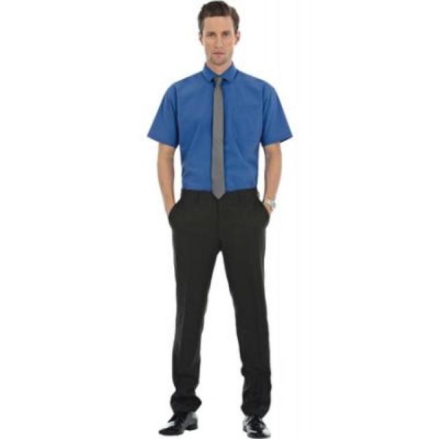 B&C Heritage, camicia uomo manica corta