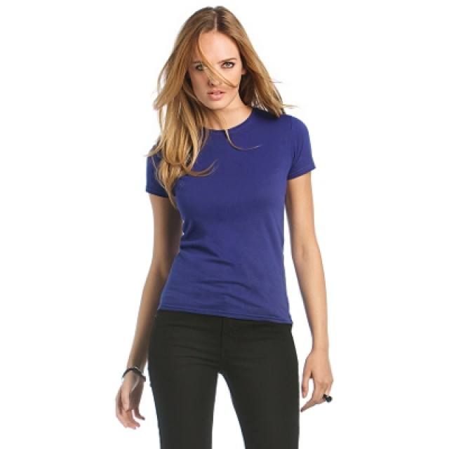 T Shirt Donna B&C Woman Only