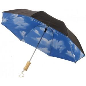 Ombrello automatico 2 sezioni Blue skies 21