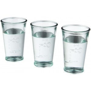 3 bicchieri da acqua
