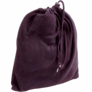 Set in polar : sciarpa (137x33 cm)/fascia paraorecchie/guanti da donna, con sacchetto in polar