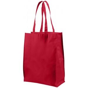 Shopper in tessuto laminato medio