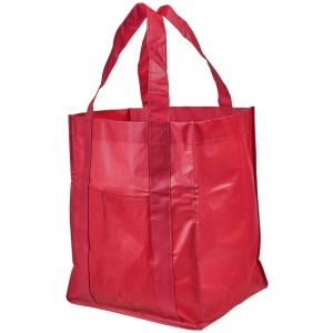 Shopper per la spesa in tessuto laminato