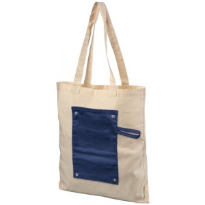 Shopper pieghevole in cotone 180 g/m² Snap