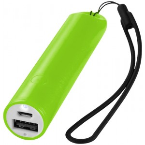 Powerbank Beam 2.200 mAh con laccetto e luce