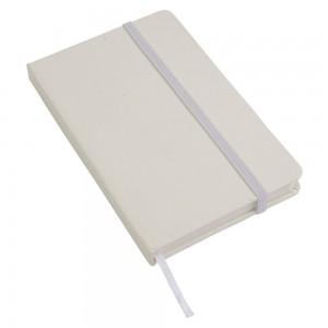 Notes con elastico e fogli bianchi