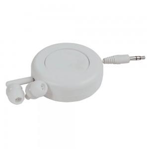 Auricolari stereo in ear con guscio avvolgicavo