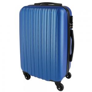 Valigia trolley rigida, manico estraibile e interno foderato (dimensione bagaglio a mano)