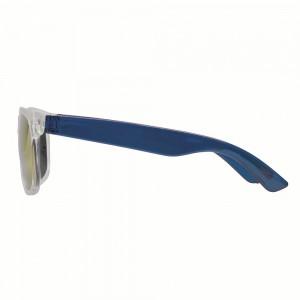 Occhiali da sole con filtro UV 400, lente a specchio
