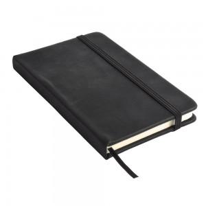 Quaderno con elastico in PU gommato