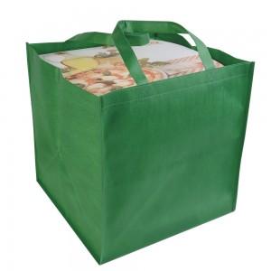 Shopper in TNT in formato cartone da pizza (36 X 37 X 36 cm)
