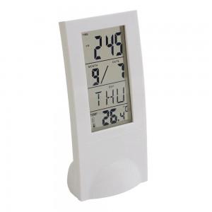 Orologio da tavolo con sveglia, calendario e termometro