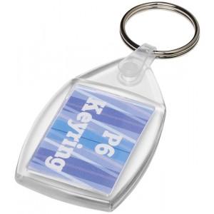 Portachiavi in plastica Lita con clip in metallo