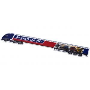 Righello Loki da 30 cm in plastica a forma di camion