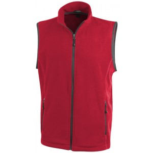 Bodywarmer in microfleece Tyndall