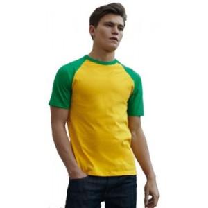 T Shirt Fruit of the Loom ValueWeight Baseball