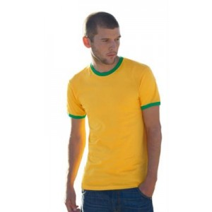T Shirt Fruit of the Loom ValueWeight Ringer