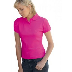 Polo Donna Fruit of the Loom manica corta