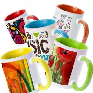 Tazza multicolor per stampa a colori