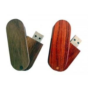 Chiavetta USB twist in legno