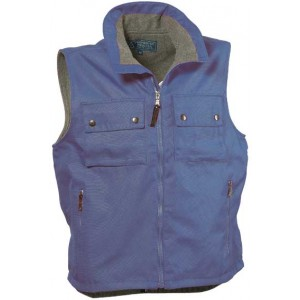 Gilet in polyestere pile