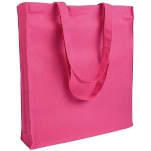 Borsa Shopper cotone con soffietto