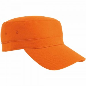 Cappellino in cotone, chiusura velcro