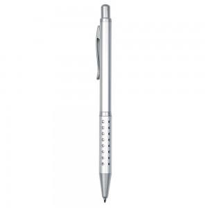 Penna sfera scatto alluminio slim