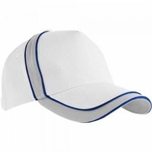 Cappellino a 5 pannelli, chiusura velcro