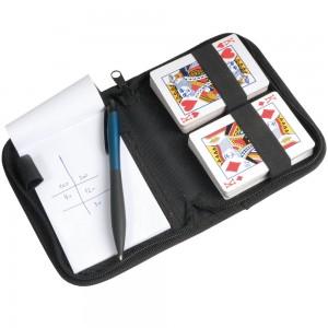 Set carte da gioco con blocco e penna