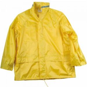 Set pantaloni/giacca con cappuccio anti-pioggia in Polyester 170T/PVC coating