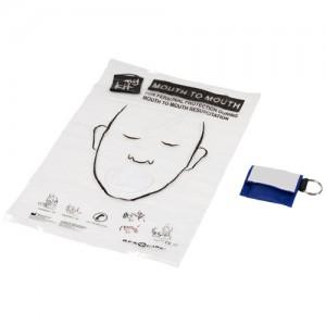 Maschera per respirazione bocca a bocca Henrik in sacchetto di poliestere
