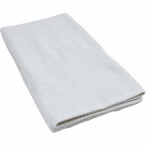 Asciugamano in cotone extra 450g, con banda per personalizzazione