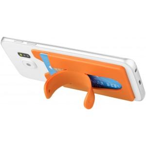 Portafoglio in silicone per telefono con supporto