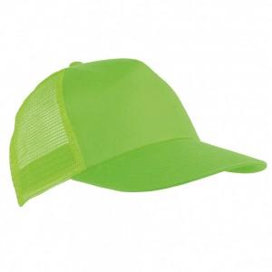Cappellino per bambino in poliestere, 5 pannelli e regolazione in velcro