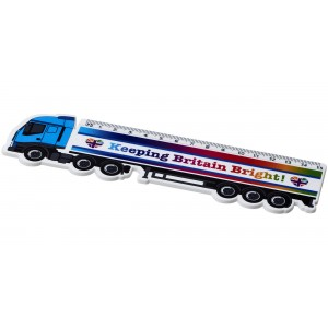 Righello Loki da 15 cm in plastica a forma di camion
