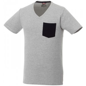 T-shirt Gully con taschino a manica corta da uomo
