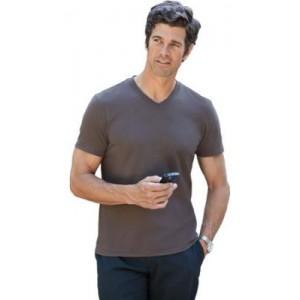 T Shirt Gildan Soft Style collo V uomo