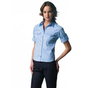 Camicia twill Russell trendy, donna