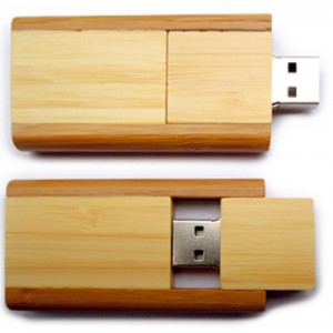 Chiavetta USB eco-twist legno