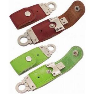 Chiavetta USB con custodia in pelle